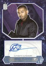 Topps 2015 Doctor Who Noel Clarke as Mickey Smith Blue Parallel Auto Card 1/50
