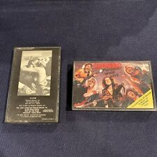 SCORPIONS  Love at First Sting And World Wide Live-  Cassette Tapes  Lot RARE