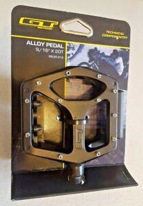 GT ORIGINAL BMX platform Pedal 9/16 Alloy / CRO-MO w/Studs