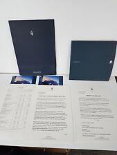 Maserati English Press Pack & Sales Brochure 3200GT Dated 2000