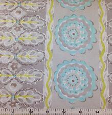 FreeSpirit PAINTED GARDEN - HEATHER (GREY) 100% Cotton Quilt Fabric - per 1/2 yd