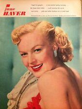 June Haver, Full Page Vintage Pinup