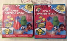 RYAN'S SURPRISE WORLD MYSTERY PLAYSET (2) BLUE & GREEN NEW SHIPS FAST