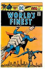 WORLD'S FINEST #235 (VF) Superman! Batman! Vintage Bronze-Age Comic 1976 DC