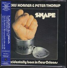 ALEXIS KORNER & PETER THORUP: SNAPE JAPAN MINI-LP CD PAPERSLEEVE OBI POCE-1023