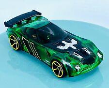 Hot Wheels Green Translucent Race Car - Green Lantern Style 050