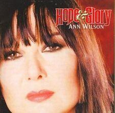 Hope & Glory 0601143108525 by Ann Wilson CD