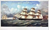 Nautical Boat print - G.A Napier Shenandon Ship