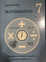 Rod And Staff - Mastering Mathematics 7 - Part 2 Teacher's Manual