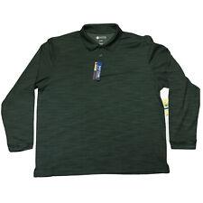 Haggar Clothing Mens Shirt Sz XL Quick Dry UPF Protection Performance