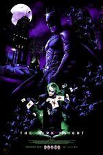 BATMAN The Dark Knight Variant Screen Print Poster Vance Kelly not Mondo XX/65