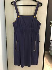 Women's Cute Purple and Yellow 'Miss Shop' Dress Size 12