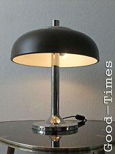 70s Cult  Große Hillebrand Lampe  Tischlampe Schreibtischlampe 70er  Braun Top