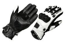 Court Cuir Blanc Joint Protection Moto Gants de Sport