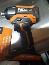 """RIDGID R86039 18V OCTANE BrushlessCordless 6-Mode 1/4"""" Impact Driver-TOOL ONLY"""