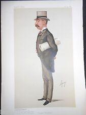 Charles Thomson Ritchie MP: Ape Vanity Fair Print 31/10/1885, (Sugar Bounties)