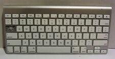 Apple A1314 Wireless Keyboard MC184LL/B Tested Silver Genuine Bluetooth
