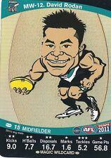 2011 Teamcoach Magic Wild-12 David Rodan Port Adelaide