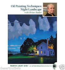 Oil Painting Techniques Start to Finish Night Landscape Brian Keeler DVD