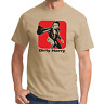 Dirty Harry Clint Eastwood Movie Kult Retro Movie Stencil Konterfei T-Shirt