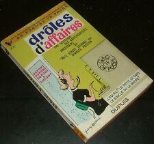 DROLES D'AFFAIRES GAG DE POCHE GDP N°14 1964 EO CARICATURES WALL STREET JOURNAL
