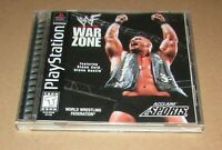 WWF War Zone for Playstation PS1 Complete Fast Shipping!