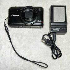 Canon PowerShot SX230 HS 12.1MP Digital Camera - Black +2 Batteries & Charger