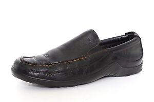 Cole Haan Men's Black Leather Tucker Venetian Loafers 2602 Sz 10 M