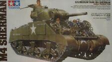"1/35 M4 Sherman ""Early Production"" Tank Model Kit by Tamiya"
