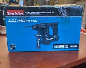 Makita XRH06ZB 18V LXT Li-Ion Sub-Compact Cordless 11/16 Inch Rotary Hammer