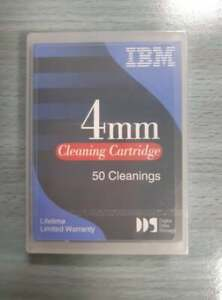 CLEANING CARTRIDGE  IBM 4MM 50 CLEANINGS 21F8763 NASTRO DI PULIZIA