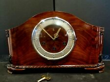 Huge Gustav Becker Westminster Chime Mantel Table Shelf Clock VERY NICE!!!