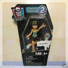 "Mega Bloks Blocks Monster High 3"" Cleo De Nile Figure Series Collection 2"
