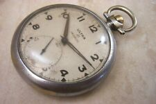 A FRENCH MADE ULTRA 41 MANUAL WIND POCKET WATCH c.1950'S