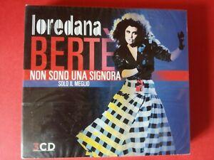 Loredana Berte' Non Sono Una Signora (Solo Il Meglio) 3CD nuovo