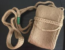 Mecates Rope Crossbody Purse Bag handmade In Costa Rica Neutral