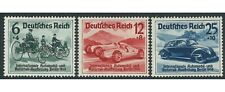 Germany 1939 Berlin International Motor Show Cars Set of 3 Stamps Mint Unhinged
