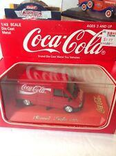 Coca-Cola Diecast 1:43 Renault Traffic Delivery Truck  Coca Cola Rare French