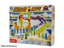 Domino Race Marble Run Game 59pc Twister Championship Toy Play Fun Present Gift