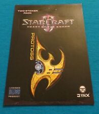 STARCRAFT II HEART OF THE SWARM PROTOSS FACTION LOGO STICKER NEW