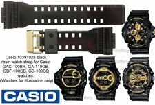 Genuine Casio Watch Strap Band GA-110GB GD-100GB GAC-100BR GDF-100GB Gilt Buckle