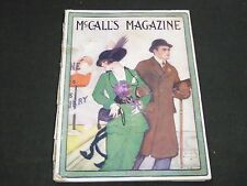 1914 APRIL MCCALL'S MAGAZINE - FASHION ILLUSTRATIONS - CUT OUT PAGE - ST 149