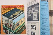 QUATTRORUOTE FEBBRAIO 1966 - PROVA - BIZZARRINI 5300 GT STRADA