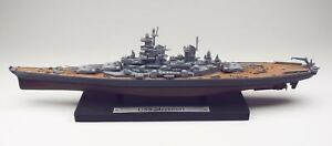US Battleship Missouri Diecast & Plastic Scale Model Ship 8.5 in Long
