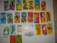 DISNEY BROOKE BOND-FULL SET- MAGICAL WORLD OF DISNEY - EXC 25 CARDS