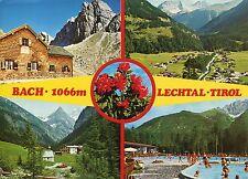 Alte Postkarte - Bach - 1066m - Lechtal - Tirol
