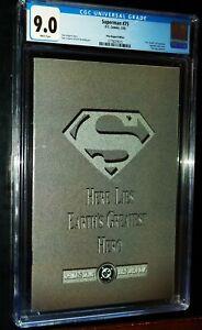 SUPERMAN #75 1993 DC Comics CGC 9.0 VF/NM White Pages