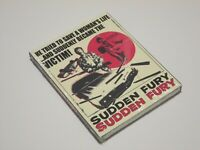 Sudden Fury Blu-Ray / DVD Combo with Limited Slipcover Vinegar Syndrome