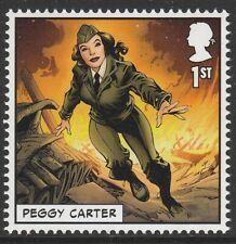GB Marvel Superhero Peggy Carter single (1 stamp) MNH 2019
