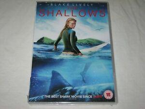 The Shallows - Blake Lively - Brand New & Sealed - Region 2 - DVD
